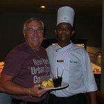 Avec Westley le sympa cuisinier