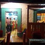 Entrada al Restaurante Caribeaquí