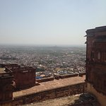 City view from Mehrangarh Fort.