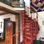 The way upstairs.