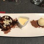 poire bourdaloue au chocolat