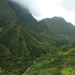 Iao Valley from trail