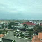 a view from our room - the airport