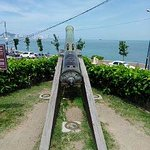 cannon facing the sea