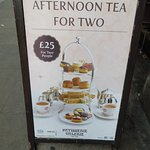 inexpensive tea for two