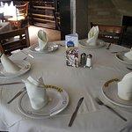 La mesa está lista