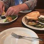 Tacquitos & smoked ham Cuban Sandwich