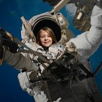 Budding astronaut in the Space zone
