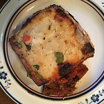 Moussaka carryout, home plate.