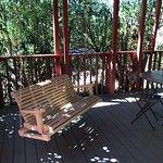 Back porch of Cottage #4