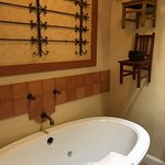 Bain Ultra bath tub is fantastic! (Separate shower, too!)
