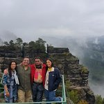 My friends from India in Bohemian Switzerland