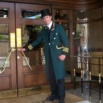Nathan, one of the friendly doormen at Rubens will greet you with a smile!
