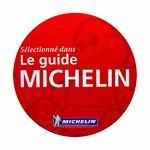 Assiette et fourchette décernées par le Guide Michelin 2017