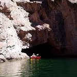 Emerald Cave in the Black Canyon on the Colorado River with Evolution Expeditions