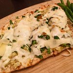 We enjoyed the flat bread in the cafe most of the nights that we were residents. YUM!