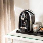 Kaffeemaschine auf dem Zimmer