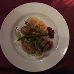Pavita + humita y verduras