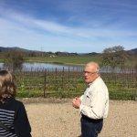 Peter's vineyard and Lake Cynthia