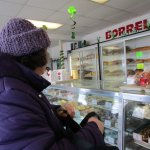 That is me inside Borrelli's Pastry Shop.