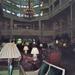 Lobby of the Grand  Floridian