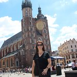 Pic in Krakow Main Square taken just a few yards from hotel entrance.