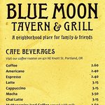 Foto van Blue Moon Tavern and Grill