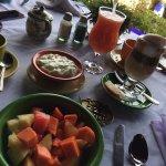 Dining at Hotel Atitlan--surprisingly good!