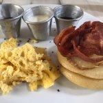 Ayos Breakfast (eggs were too dry)