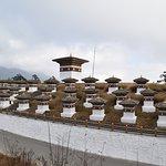 108 religious stupas