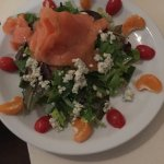 Great dinner.  Perfect place for a great salad with a range of ingredient options, thoughtfully