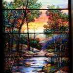 Another stained glass window.