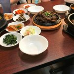 Udon, Kalbi, Bibimbap, Tofu Soup