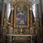 Impressive paintings inside church