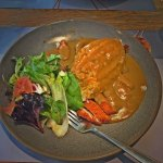 Think this was the chicken katsu curry, it was very nice, good portion size with the right mix o