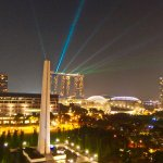 iLight laser show at 8 pm every night (in March only)