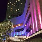 Hilton had just had a big NYE celebrations