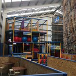 New Soft Play Area with rock climbing wall