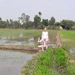 PRT Unicorn- walk to the rice field.