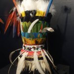 Indianen hoofdtooi van veren
