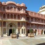 Panorama inside city palace