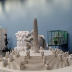 miniature of vigeland park statue