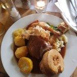 Trio of meat roast