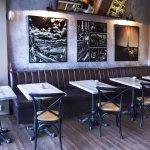 Interiér Café Oliver - přední část