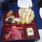 The new Sashimi Bento Lunch