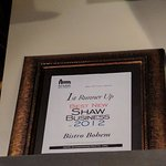 2012 best new Shaw business 1st runner up