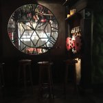 Quirky bar, in the style of an enchanted forest. Next to the waxworks. Well worth a visit.