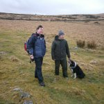 Hiking on the tours and sheep dog demonstration