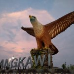Iconic Langkawi eagle