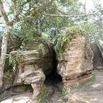 Subida da gruta